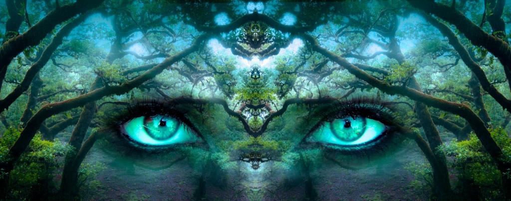 yeux créatif